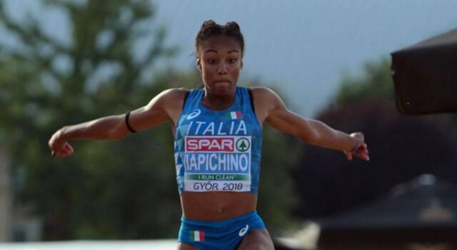 Larissa Iapichino è la golden girl dell'atletica italiana