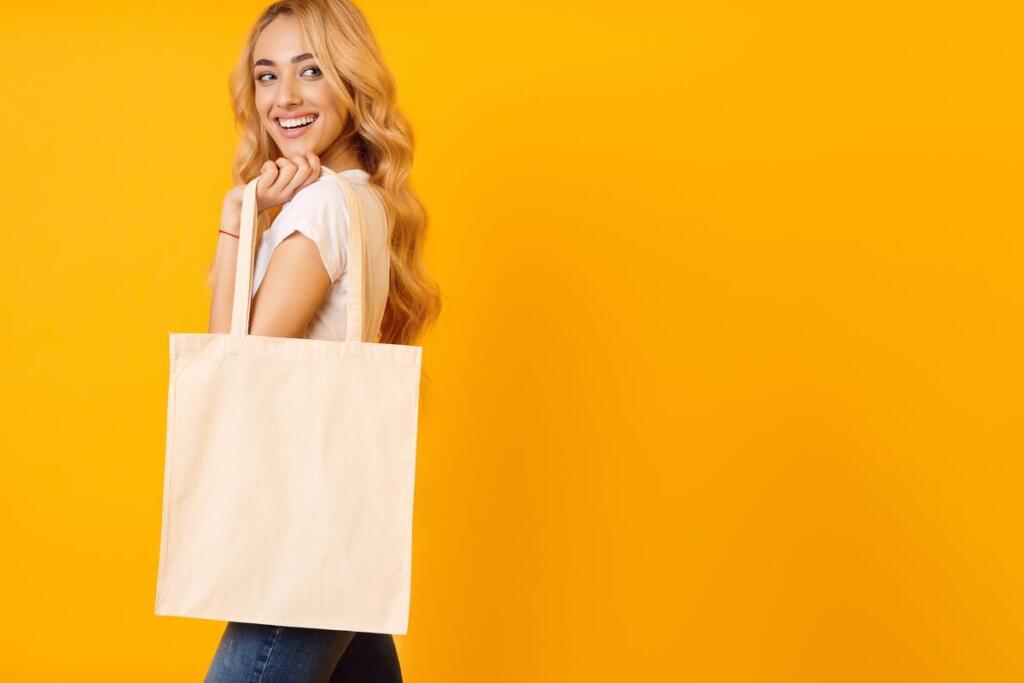 borsa riutilizzabile per lo shopping