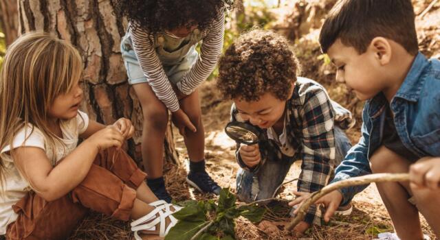 Asilo nel bosco e le nuove sfide dell'educazione: si impara all'aria aperta