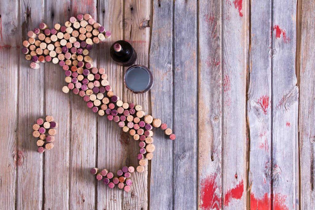 I 10 migliori vini rossi italiani