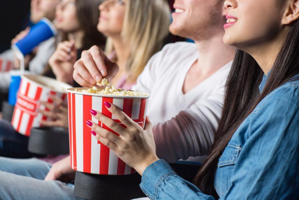 Spettatori al cinema