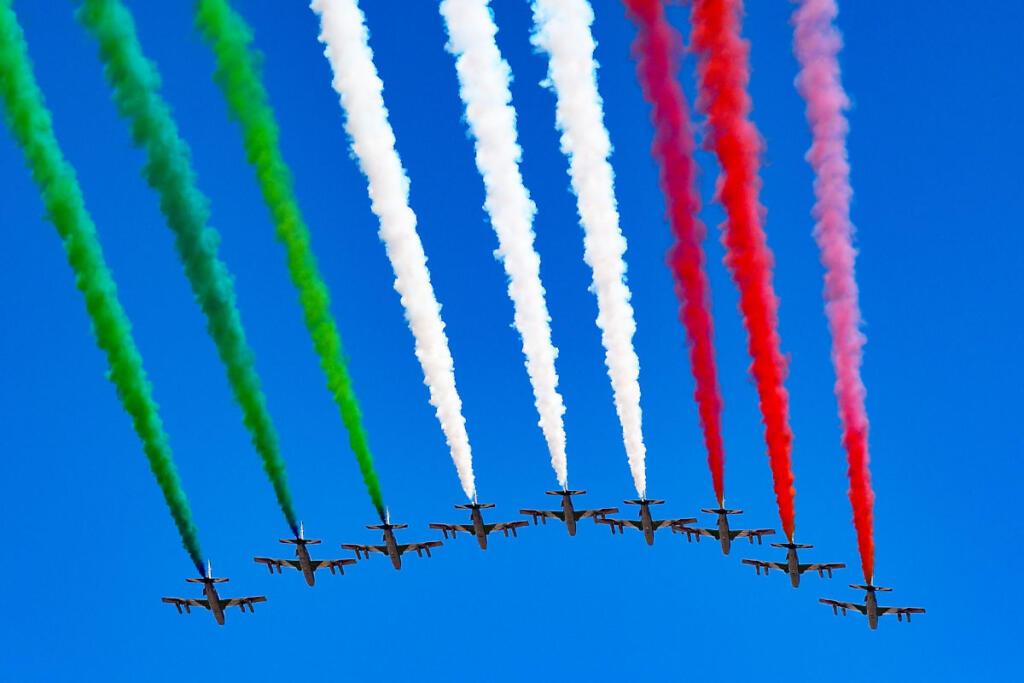 frecce tricolori in Italia