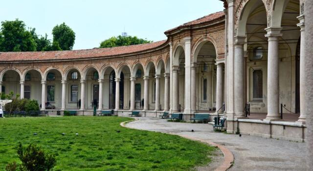 In centro a Milano esiste un luogo fuori dal tempo, la Rotonda della Besana