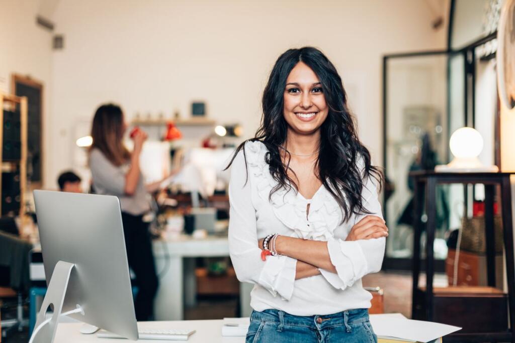 giovane imprenditrice