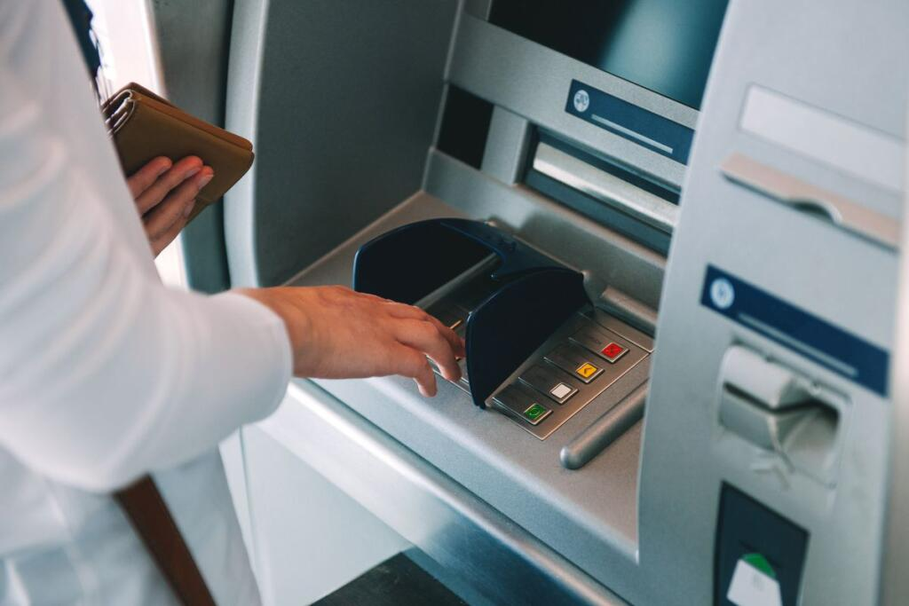Un bancomat