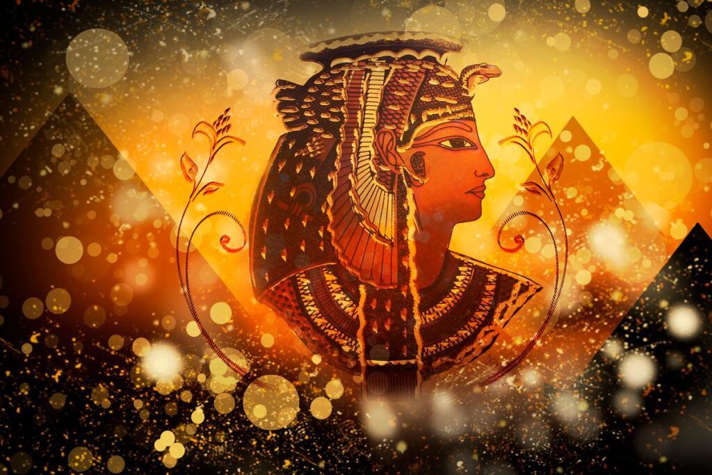 ritratto di Cleopatra