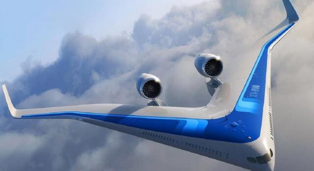 Flying V, l'aereo ecosostenibile che rivoluziona il trasporto nei cieli