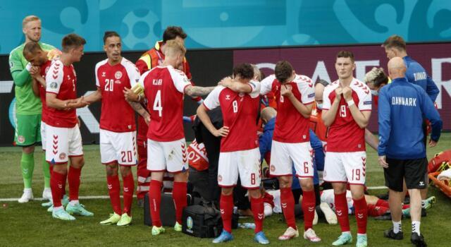 Euro 2020, Simon Kjaer mostra al mondo il lato umano del calcio