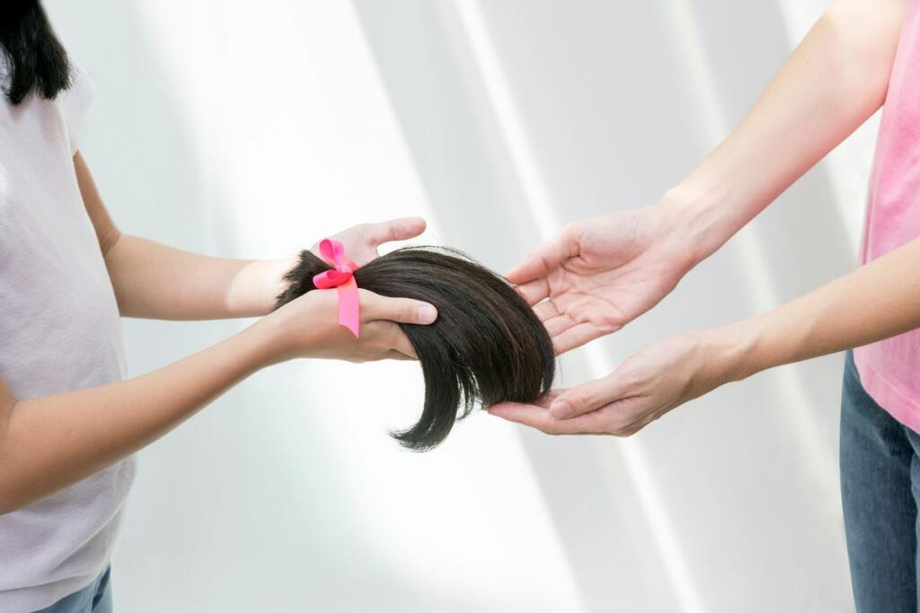 Donazione capelli