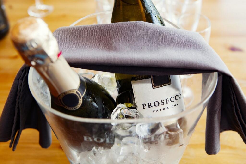Bottiglia di Prosecco