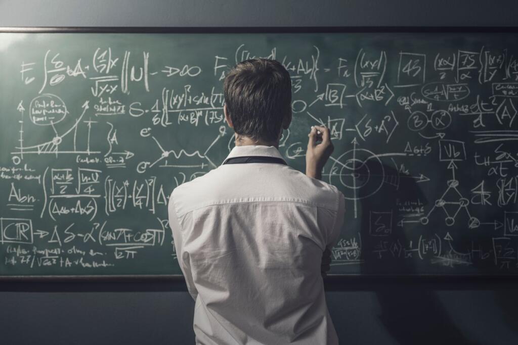 Un matematico risolve un problema