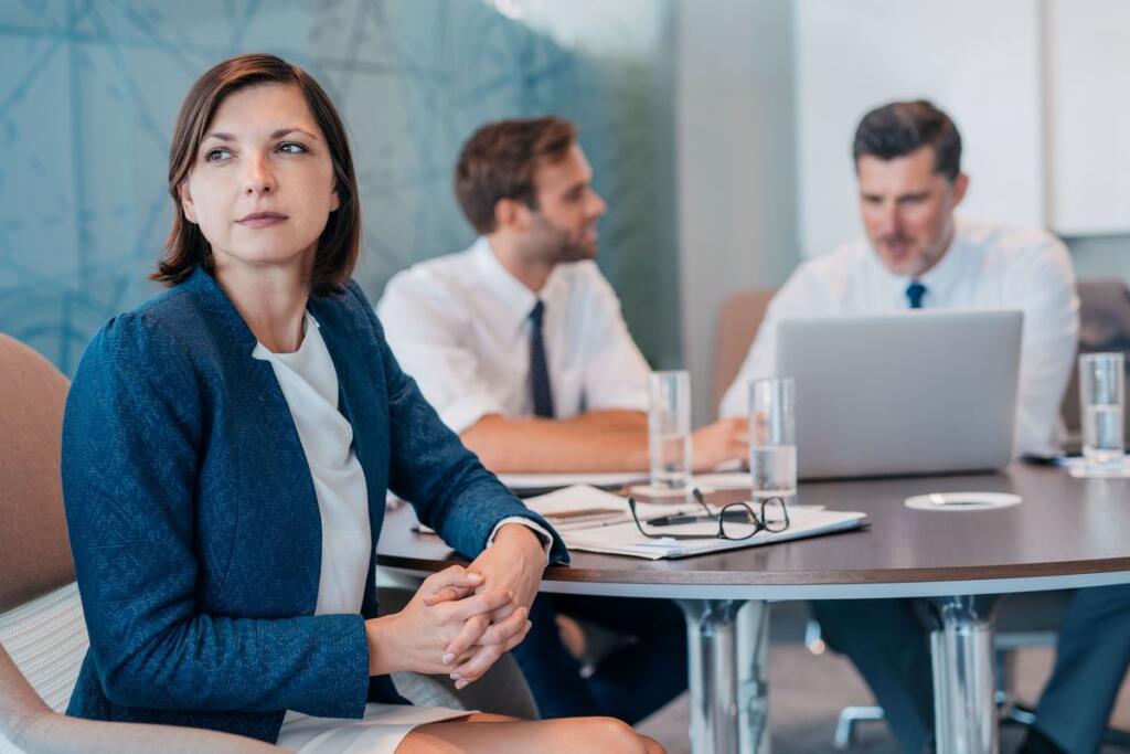 Una donna in azienda
